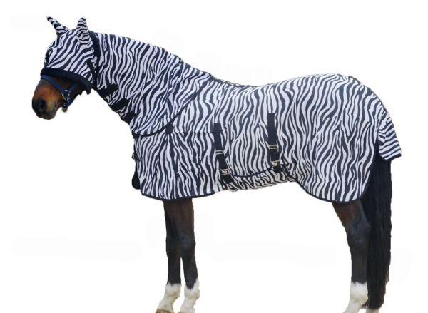 Fliegendecke Zebra Look